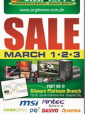 PC Gilmore Sale Happening From March 1 to 3